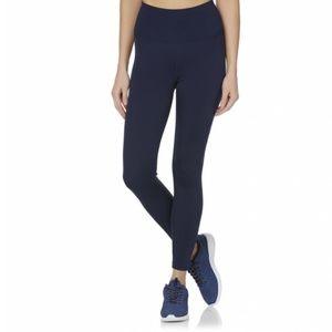 Reebok Navy Women's High Waist Athletic Leggings
